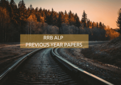 RRB ALP PREVIOUS YEAR PAPERS